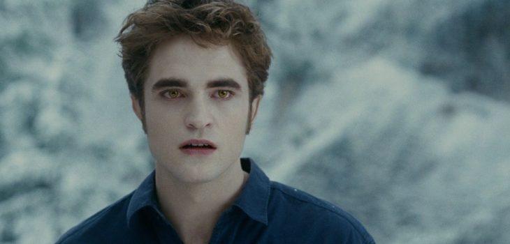 """Robert Pattinson como Edward Cullen en la saga """"Crepúsculo"""""""