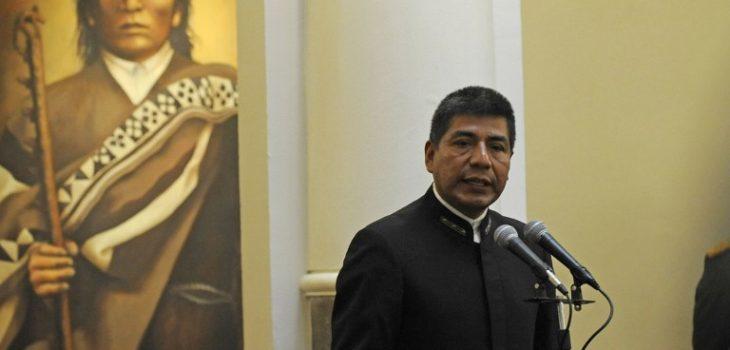 Canciller de Bolivia   Agence France-Presse