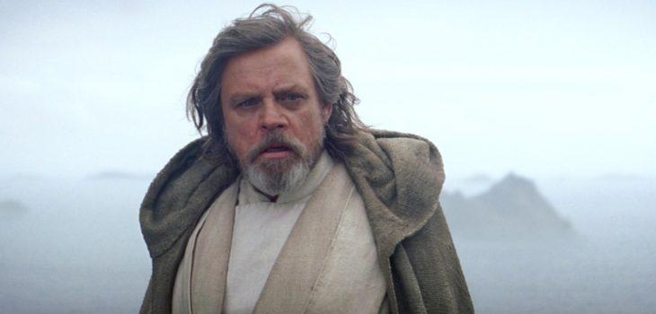 """Mark Hamill como Luke Skywalker en """"El despertar de la fuerza"""""""