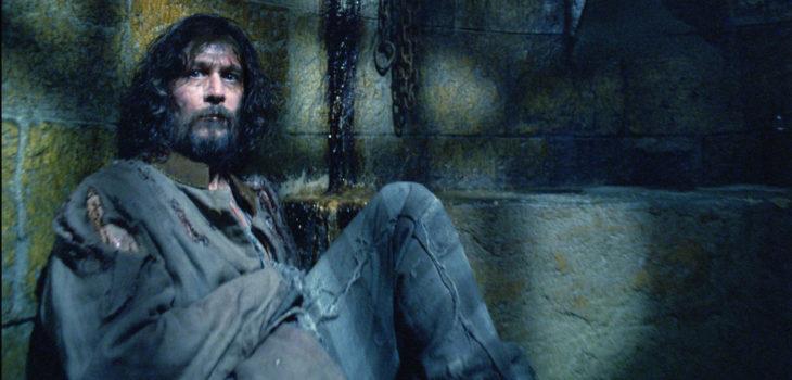 Sirius Black en Harry Potter y el prisionero de Azkaban