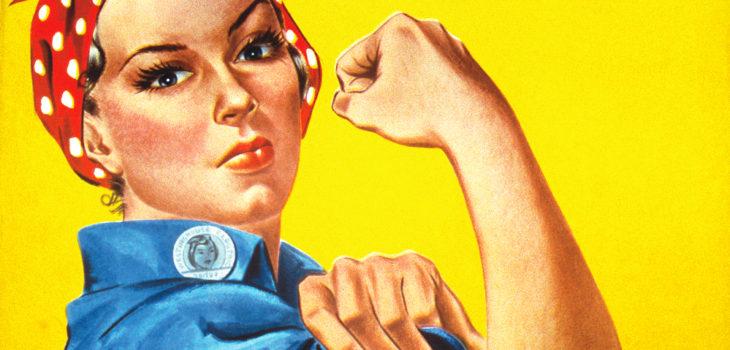 "Imagen feminista ""We can do it!""que se ha viralizado en redes sociales"