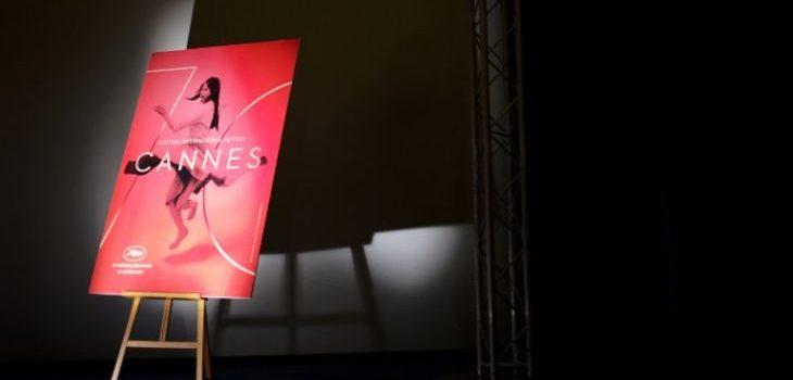 Afiche de la edición 2017 del festival, durante la presentación de su Selección Oficial | AFP | Lionel Bonaventure