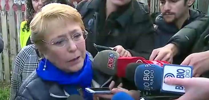 Presidenta Bachelet visita a Nabila Rifo