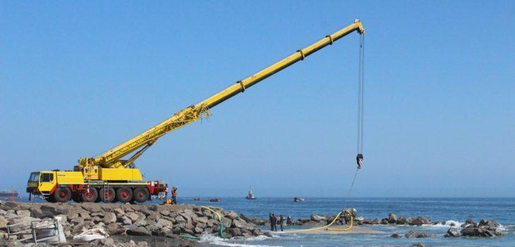 MOP   Construcción playa El Salitre en Tocopilla