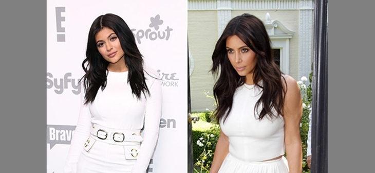 Kim Kardashian y Kylie Jenner | Daily Mail