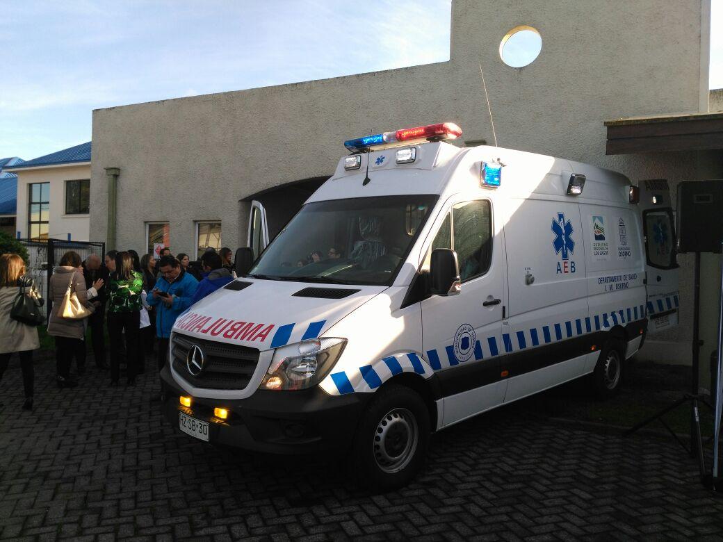 Nueva ambulancia para Osorno | Paulo Díaz