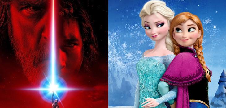 Star Wars Episodio VIII | Frozen 2