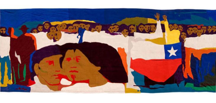 """""""Multitud III"""", 1972. Gracia Barrios."""
