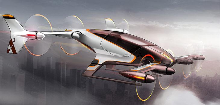 ARCHIVO | Auto volador de Airbus