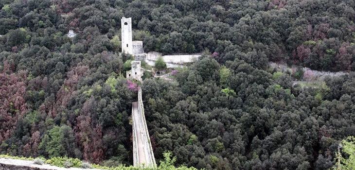 Castillo en Spoleto, uno de los que se regalan | Agenzia Demanio