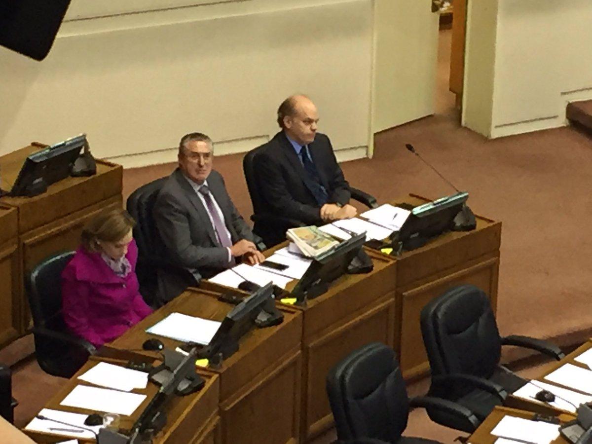 Senadores DC presentes en homenaje a Edwards.