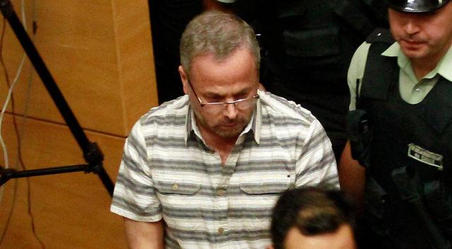 Flavio Echeverría, en audiencia de formalización.