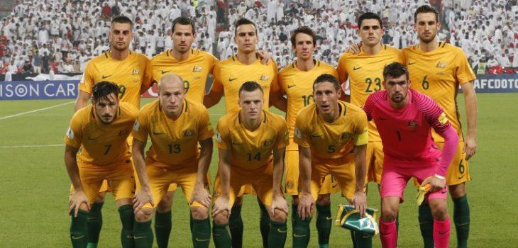 Resultado de imagen para seleccion de futbol de australia a rusia 2018