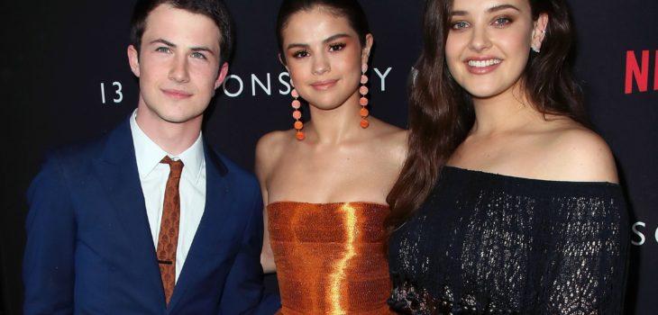 Selena Gómez y los protagonistas de 13 Reasons Why