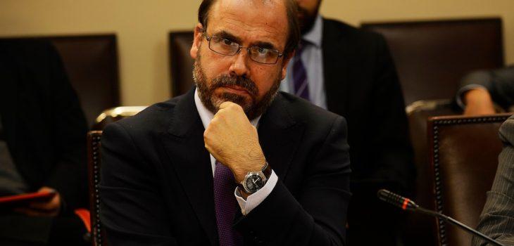 Ministro de Obras Públicas, Alberto Undurraga | Agencia Uno (Pablo Ovalle)