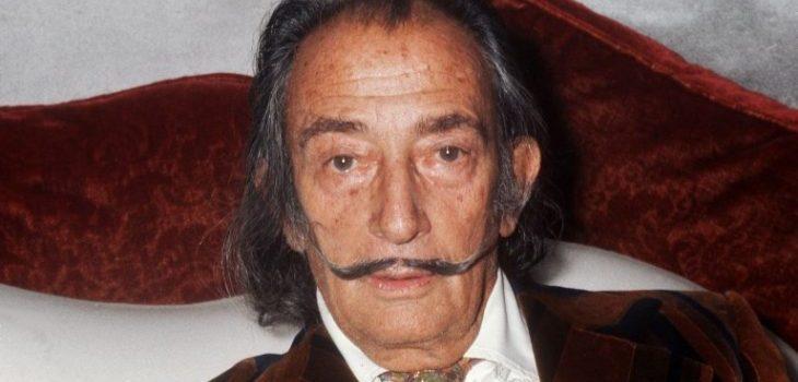 Salvador Dalí el 13 de diciembre de 1972 | Agencia AFP