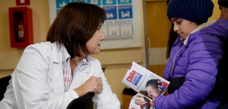 17 de Junio del 2017/SANTIAGO La Ministra de Salud Carmen Castillo visitó el SAPU de Alta Resolutividad (SAR) Sofía Pincheira en la comuna de Cerrillos, para constatar el refuerzo en la red de atención primaria, en el marco de la Campaña de Invierno 2017 FOTO:FRANCISCO FLORES SEGUEL/AGENCIAUNO