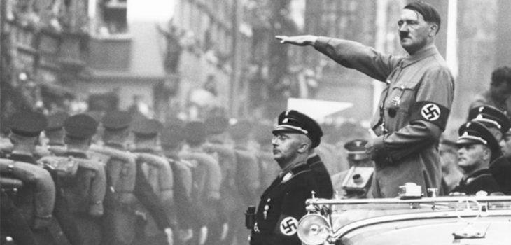 Adolf hitler, líder de la Alemania Nazi