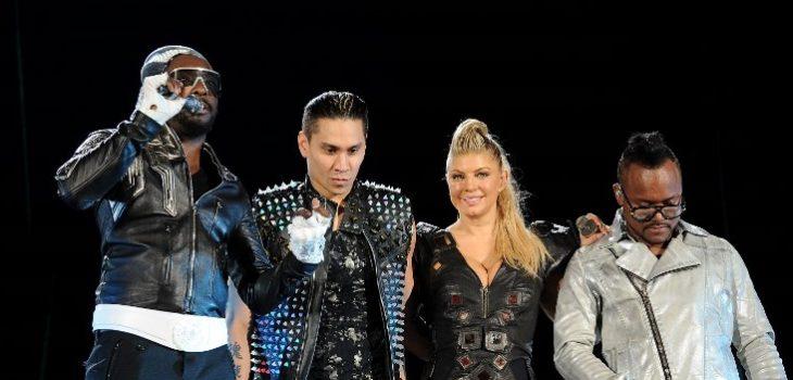 Black Eyed Peas  junto a Fergie en 2011 | Dimitrios Kambouris | Getty Images | AFP