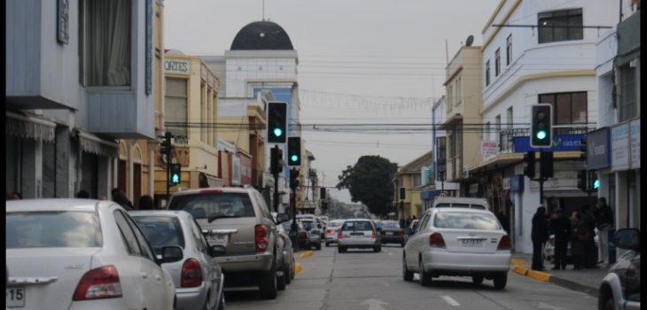 Calle Aldunate de Coquimbo / Diario El Día