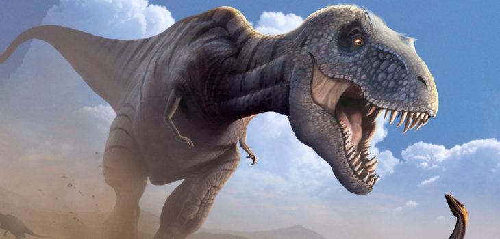 Representación gráfica de un Tiranosaurio Rex