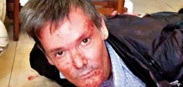 Fernando Farré tras el crimen | Diario Clarin