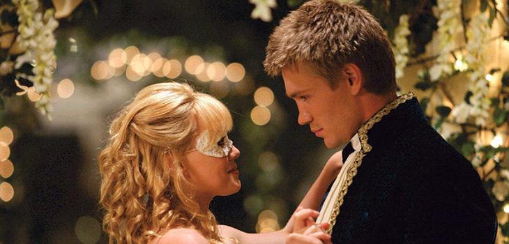 """Hilary Duff y Chad Michael Murray en """"La nueva cenicienta"""" (2004)"""