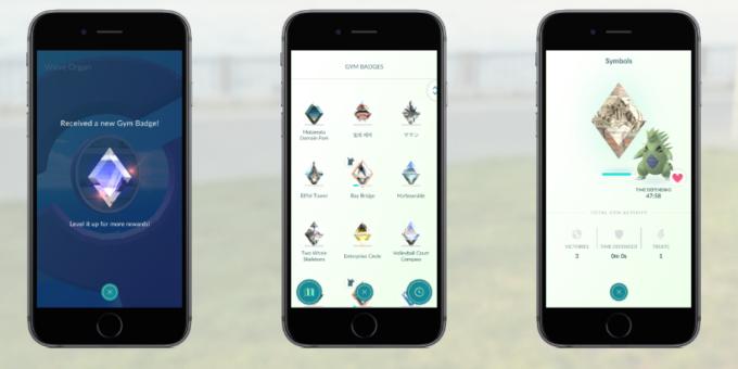 Medallas de gimnasios en Pokémon GO - Pokemon GO