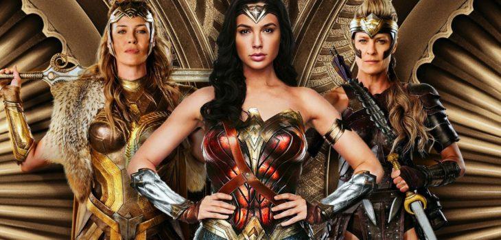 De izquierda a derecha: Hippolyta, Mujer Maravilla/Diana y Antiope | Warner Bros.