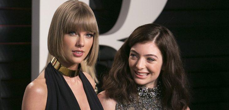 Taylor Swift y Lorde | Adrián Sánchez-González | AFP