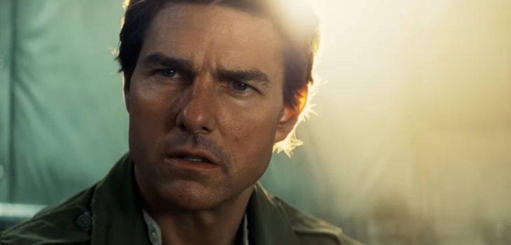 "Tom Cruise en ""La momia"""