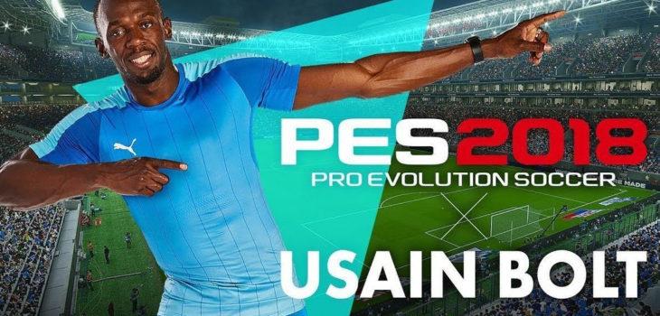 Usain Bolt en PES 2018