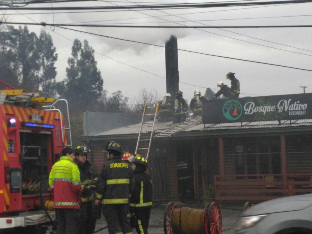 Amago de incendio en sector Ovejería