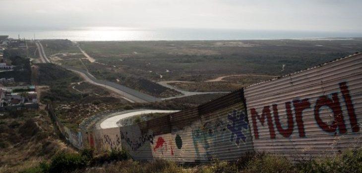 Parte del mural de Tijuana   Agencia AFP   Guillermo Arias