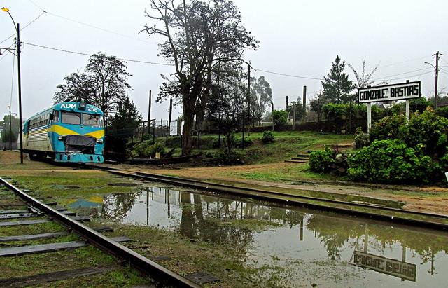 Vía férrea como atractivo turístico en Talca. -  Sebastián Betancourt | Flickr (CC)