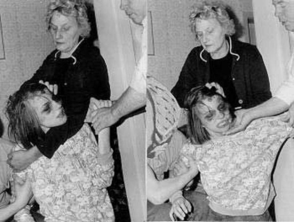 Anneliese Michel y su madre