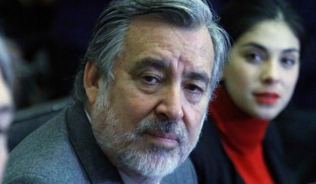 Alejandro Guillier, senador y candidato presidencial.