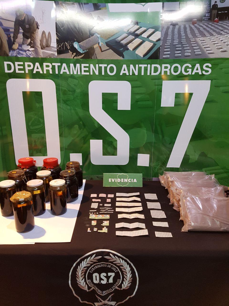 OS7 Carabineros.