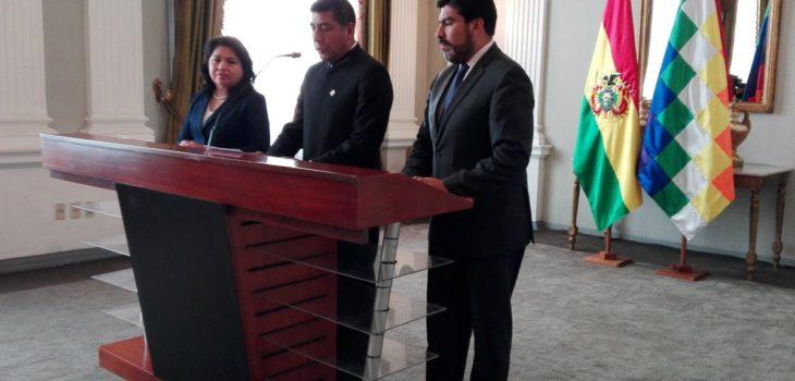 Cancillería de Bolivia (Twitter)