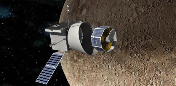 BepiColombo separándose en Mercurio | Astrium