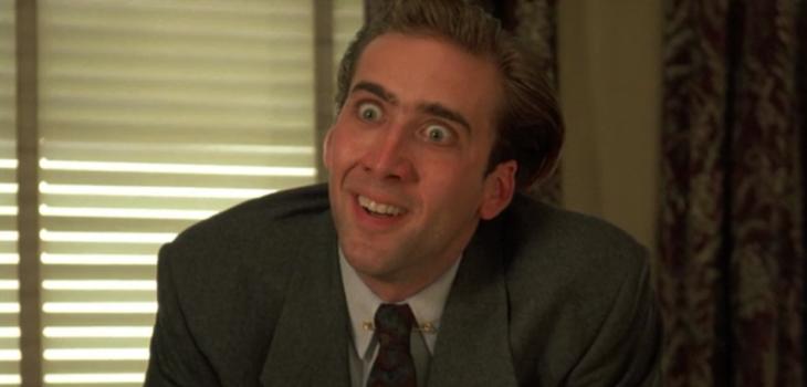"""Nicolas Cage en """"Besos de vampiro"""" (1989)"""