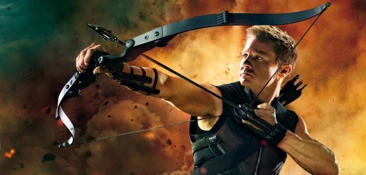 Jeremy Renner como Ojo de Halcón de Marvel