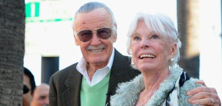 Stan y Joan Lee en 2011 | Alberto E. Rodriguez | Getty Images | AFP