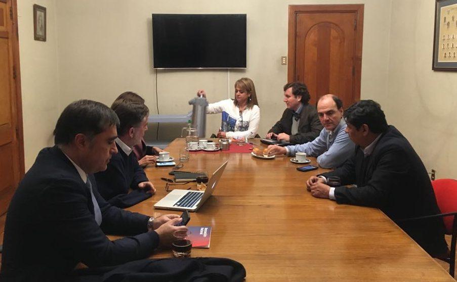 Reunión de Chile Vamos.