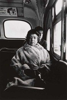 Lady on a bus, NYC, 1957, MALBA (c)