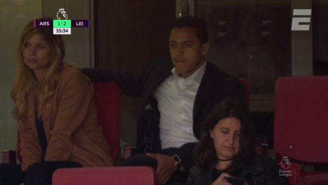 Alexis y Mayte en Emirates
