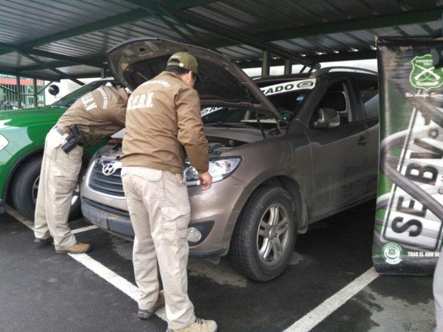 Vehículo recuperado | Pedro Cid (RBB)