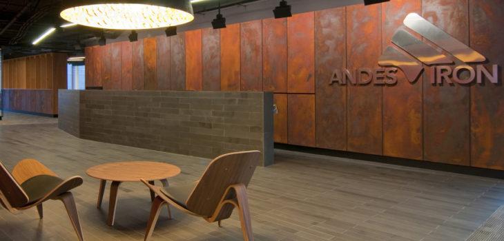 Oficinas de Andes Iron | ofarquitectos.com