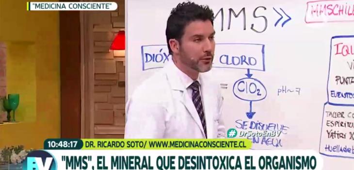 Doctor Soto en Bienvenidos | Canal 13