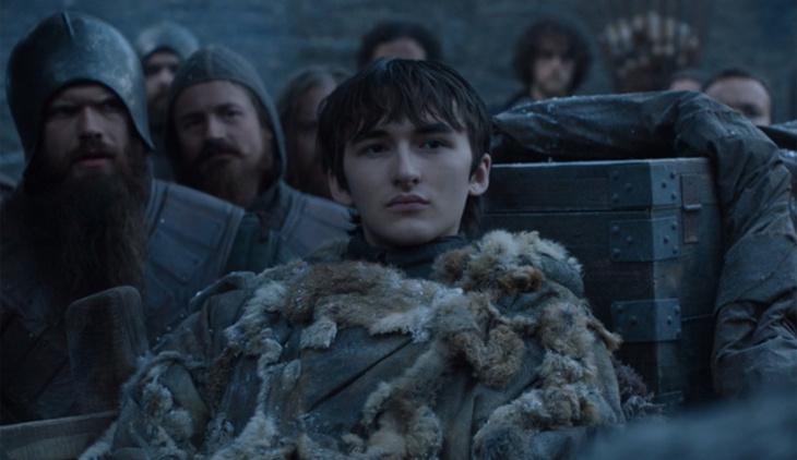 Momento en que Bran se reencuentra con Sansa | Game of Thrones 7x03